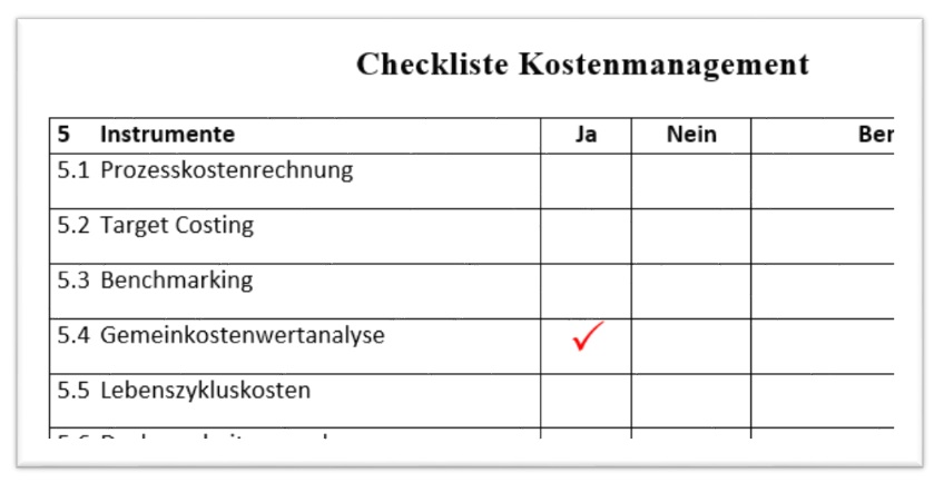 GKwertanalyse