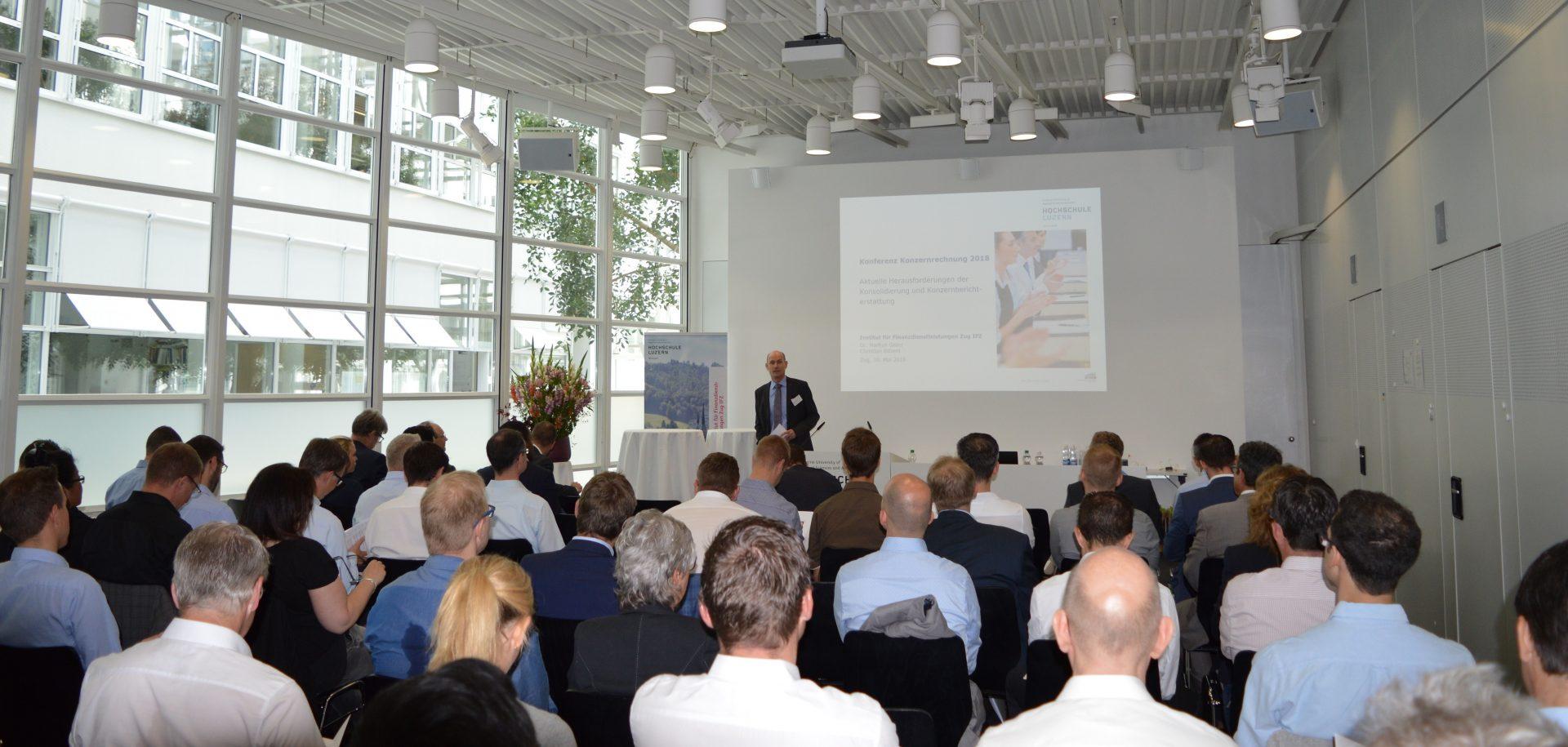 Erfolgreiche Konferenz Konzernrechnung 2018