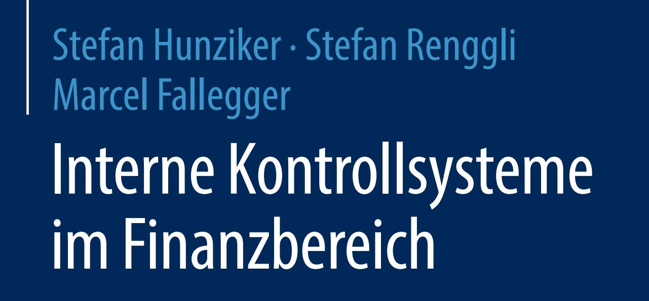 Buch-Neuerscheinung: Interne Kontrollsysteme im Finanzbereich