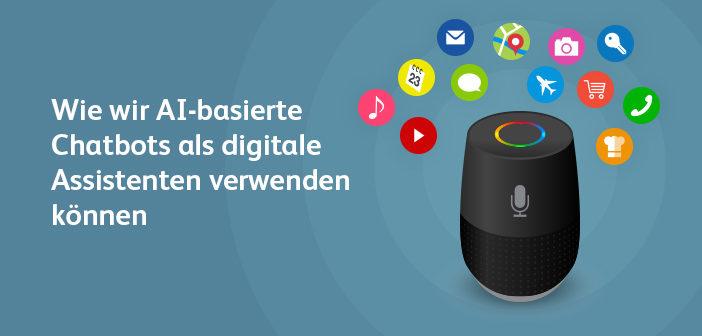 Chatbot symbolisiert digitale Assistenten