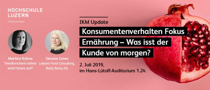 IKM Update Fokus Konsumentenverhalten