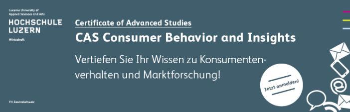 CAS Consumer Behavior and Insights