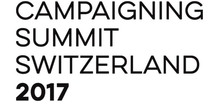 Campaigning Summit Switzerland – Die Referenten und ihre Themen
