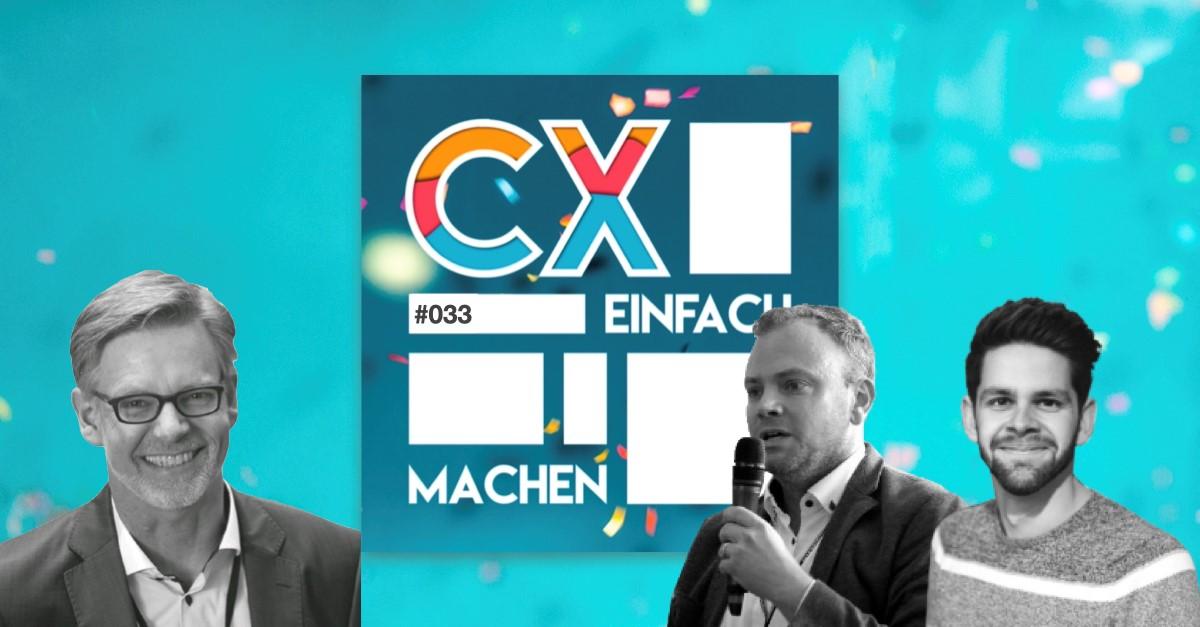 Wolfgang Rathert zu Gast im Podcast CXEinfachMachen