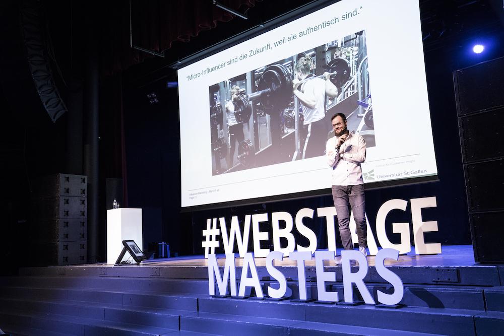 Webstage Masters 2018 – Schweizer Influencer-Marketing Szene aufgewühlt