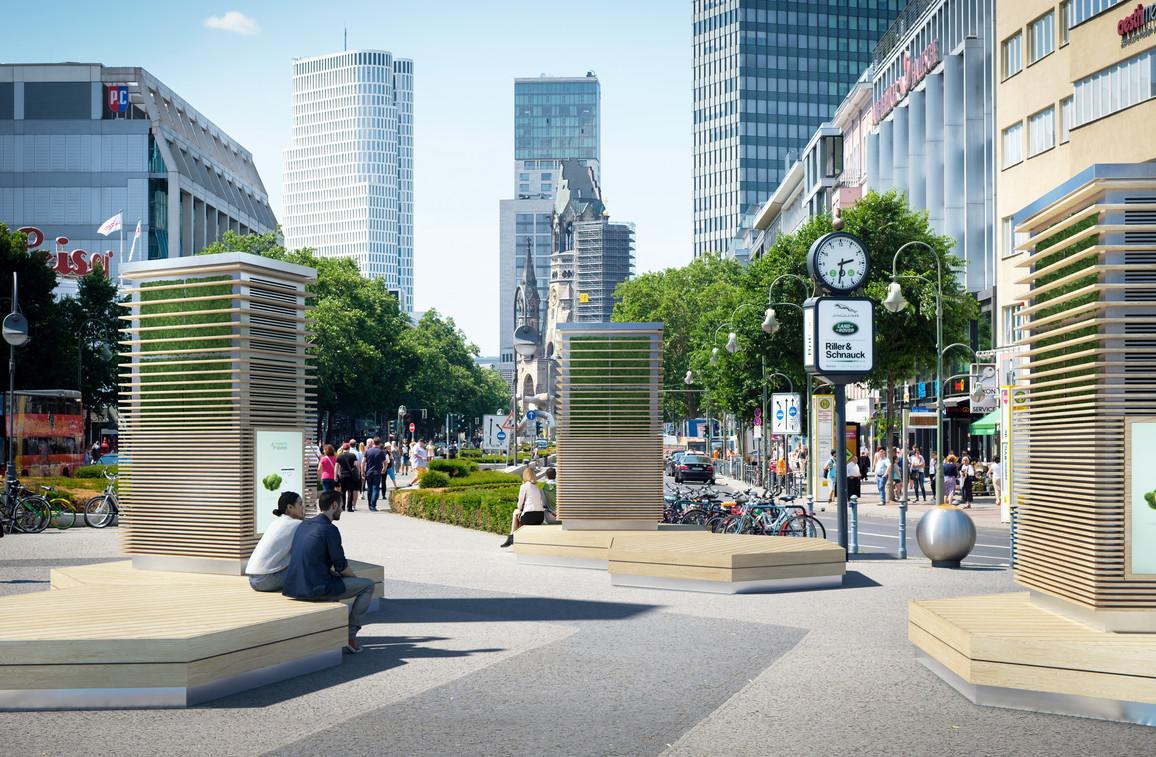 Grüne Klimaanlagen: Wie die Städte der Zukunft dem Klimawandel trotzen