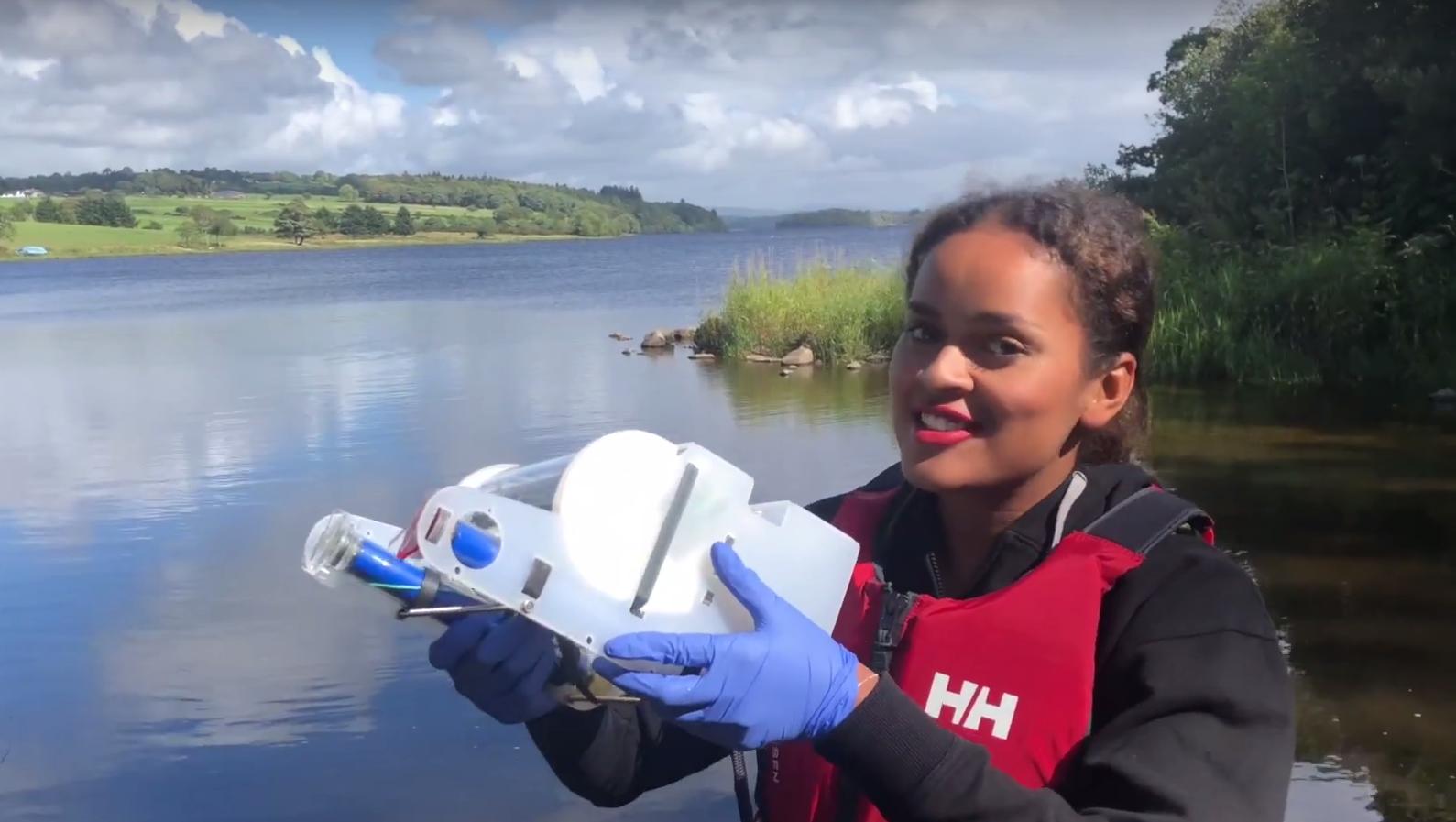 Mit Unterwasserdrohne und VR für den Gewässerschutz