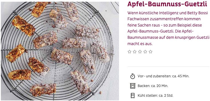 Apfel-Baumnuss-Guetzli