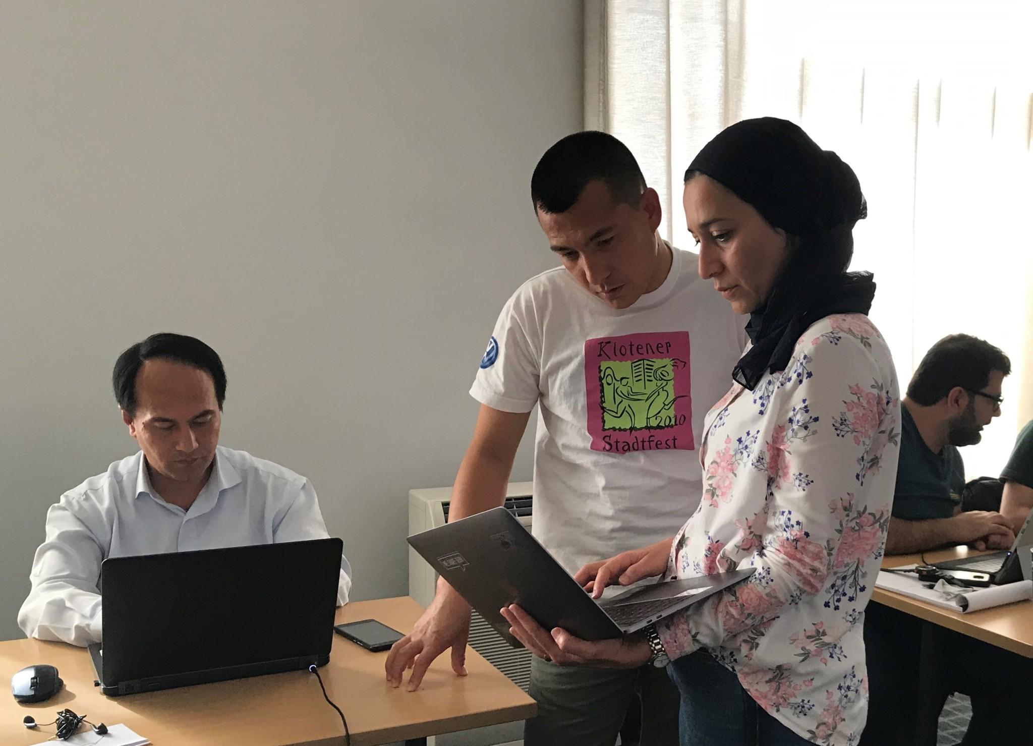Hebelwirkung für Geflüchtete mit IT-Talent