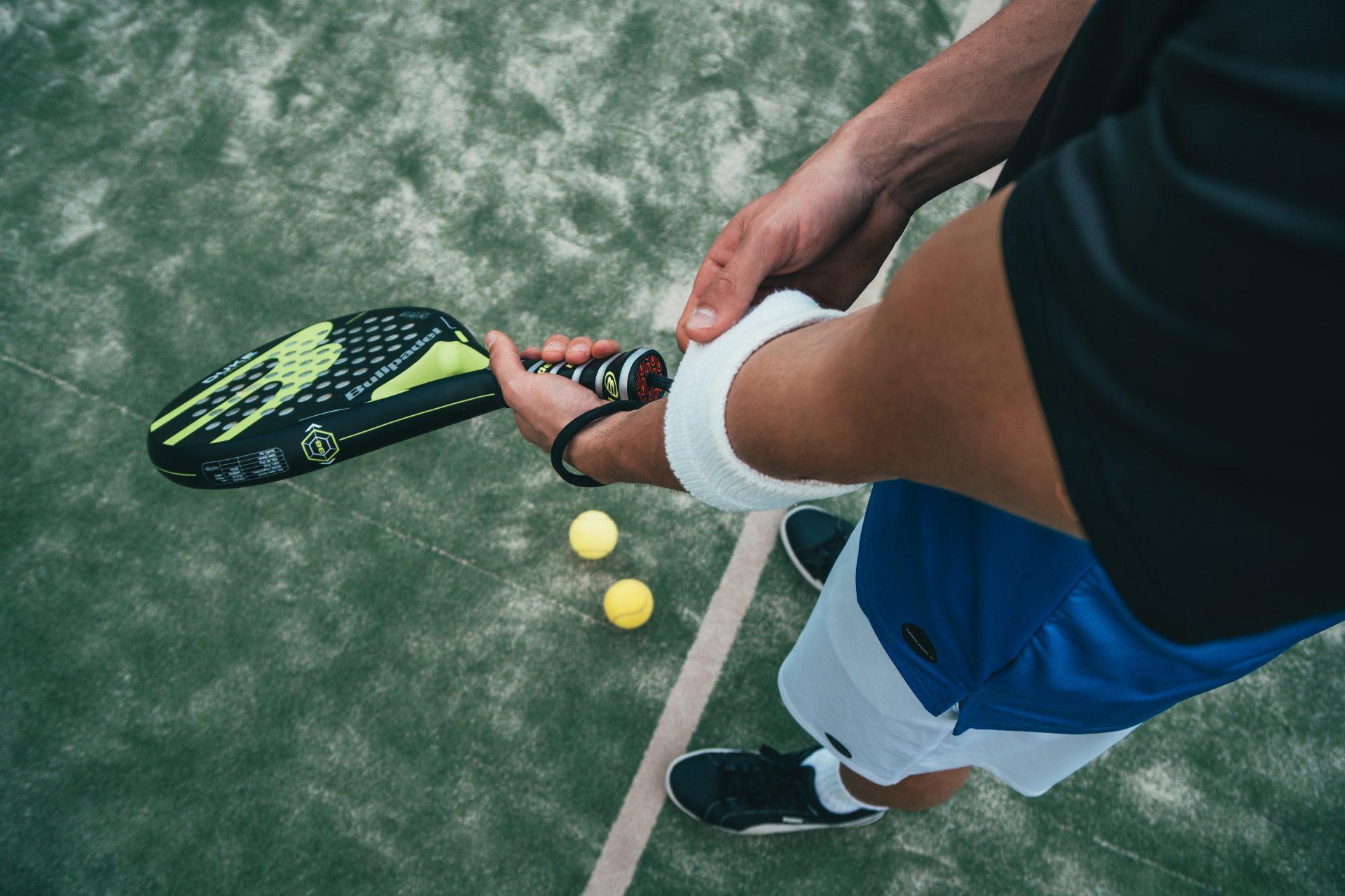 Wie ein Tennisschläger digital wird