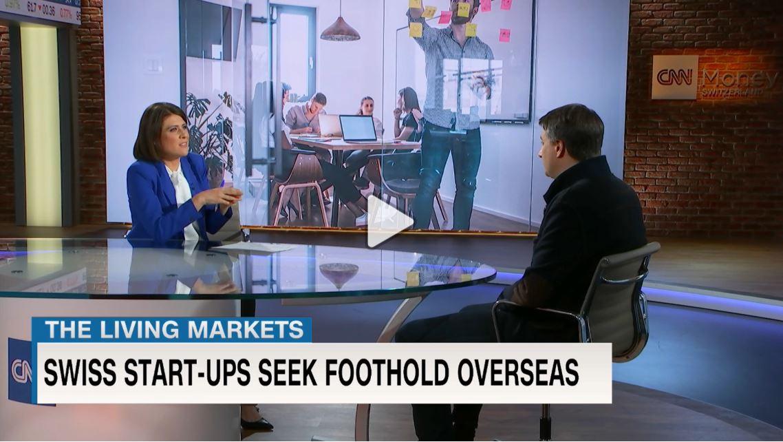 Internationalisierung von KMUs und Startups: Interview von Prof. Ingo Stolz mit CNN Money Switzerland