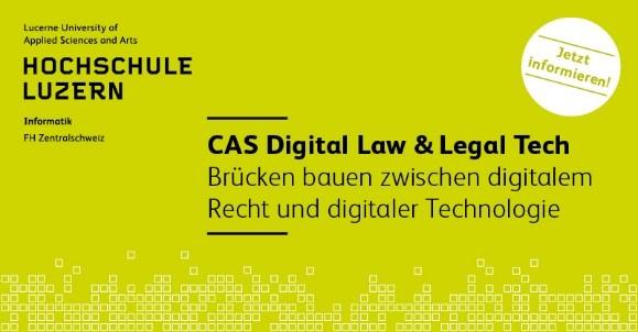 Digital Law & Legal Tech: Wenn die Rechte nicht weiss, was die Linke tut