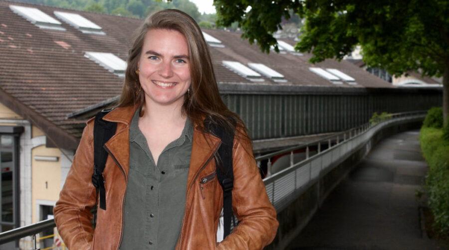 «Ich möchte mit meinen Projekten zum Nachdenken anregen», sagt Leila Scharwath über ihre Bestimmung.