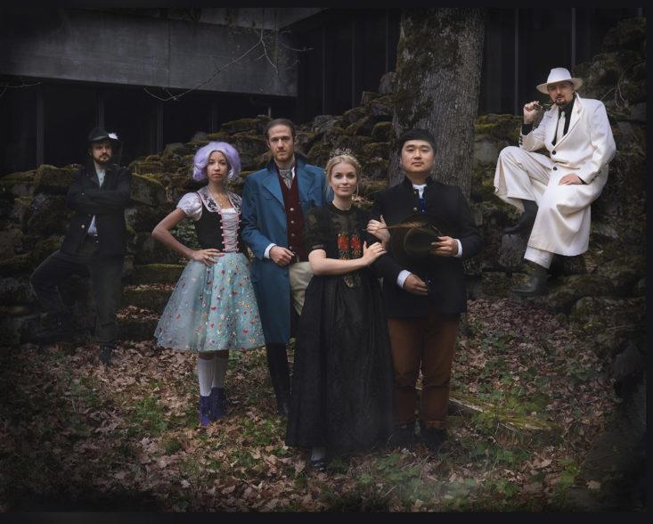 Die Mitwirkenden der Opernproduktion «Freischütz» (Foto: Ingo Höhn)