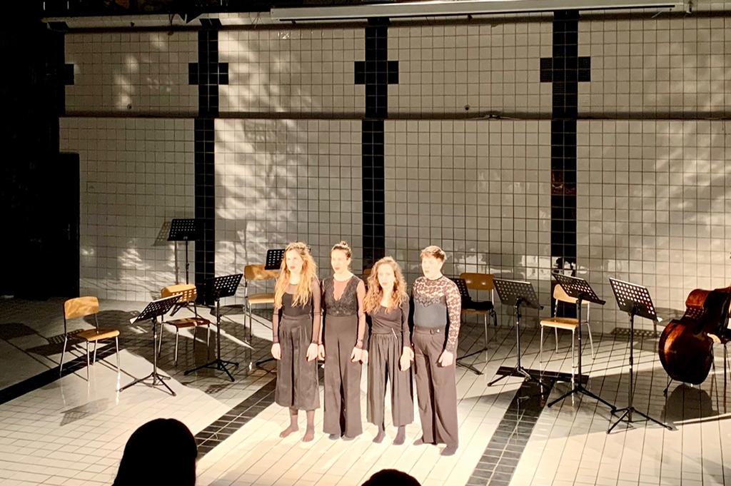 Frauenpower im Projekt Upon Silence des Studios für zeitgenössische Musik