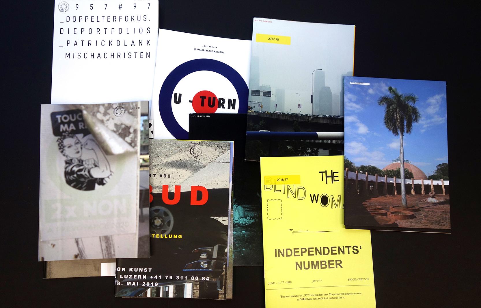 Das Independent Art Magazine _957 – explodierende Bilder und kooperative Expression