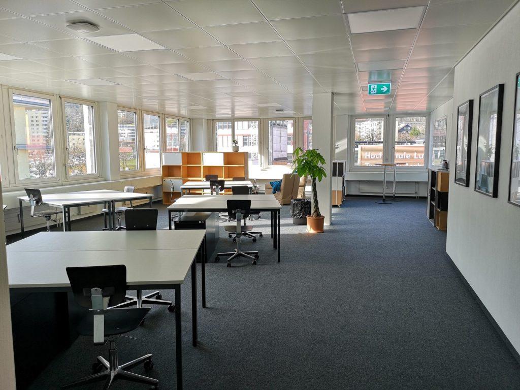 Smart-up Hub an der Hochschule Luzern - Technik & Architektur