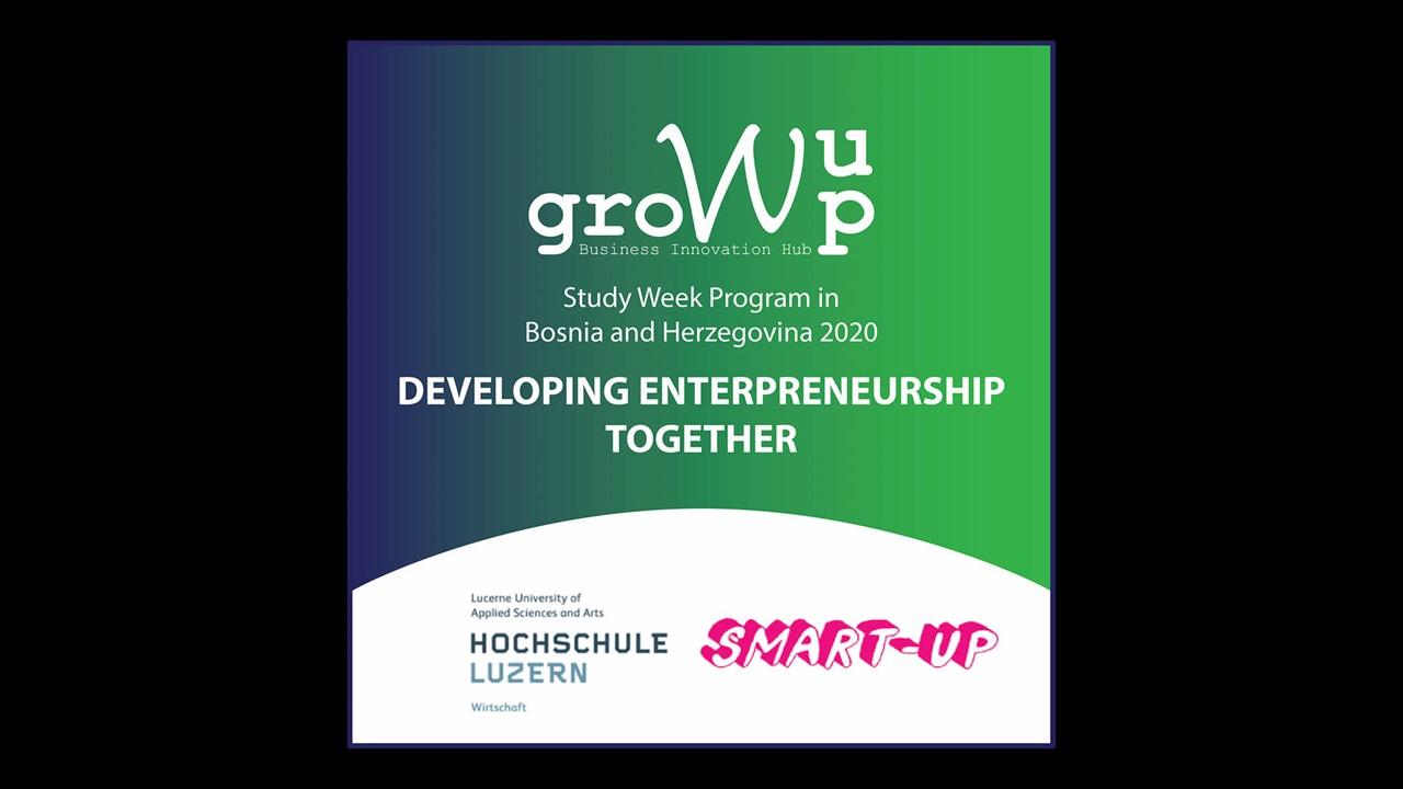 Gemeinsam Unternehmertum entwickeln – Study Week mit Bosnien Herzegowina