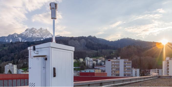 MeteoSchweiz baut aus automatische Pollenmessnetz der Zukunft aus – gemeinsam mit Swisens