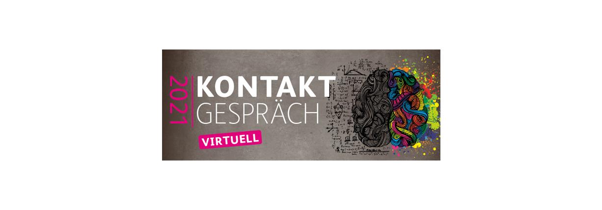 Als Aussteller zur virtuellen Absolventenmesse «Kontaktgespräch» (zum Vorzugspreis)