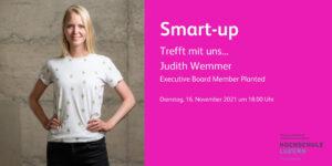 Trefft mit uns... Judith Wemmer, Planted @ Hochschule Luzern – Wirtschaft / Oase (5. OG)