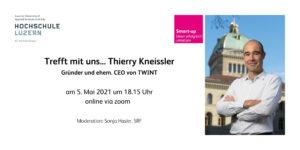 Trefft mit uns... Thierry Kneissler, Gründer und ehem. CEO von TWINT @ online