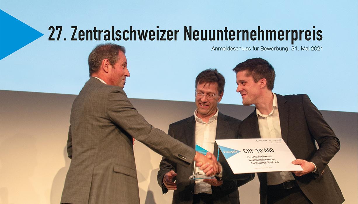 Gesucht: Zentralschweizer Neuunternehmer