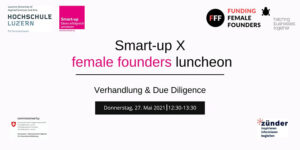 female founders luncheon, Verhandlung & Due Diligence @ online