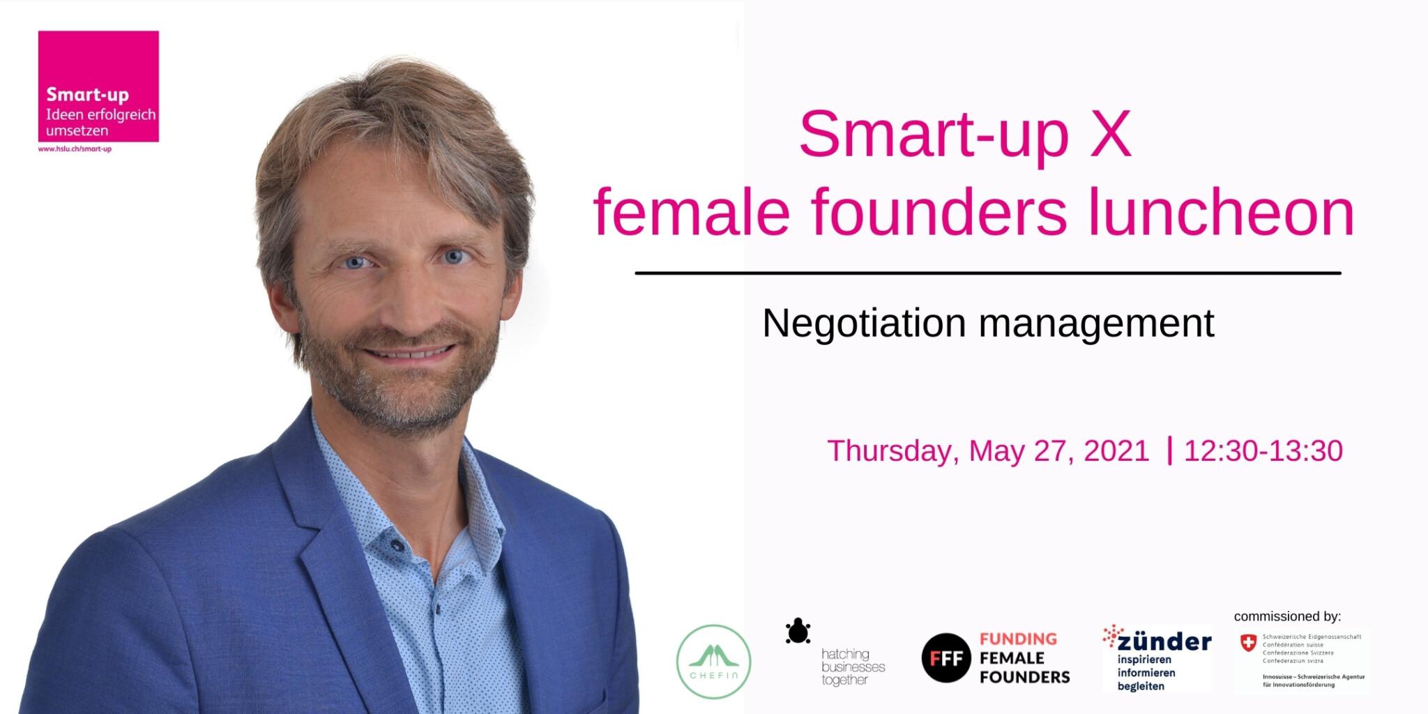 Recap Smart-up X female founders luncheon – Verhandlung