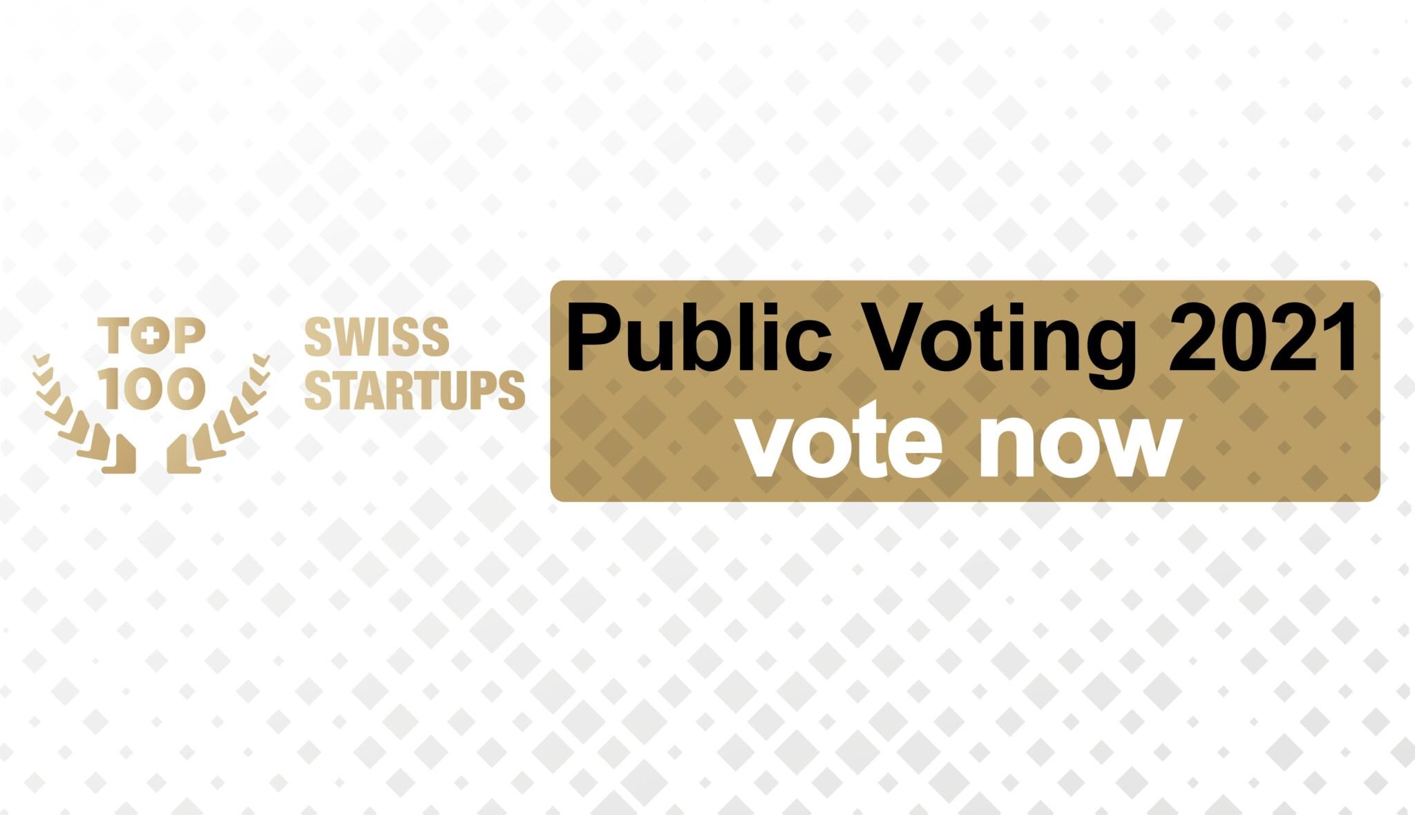 Das Public Voting für den TOP 100 Swiss Startup Award läuft noch bis 18. Juli