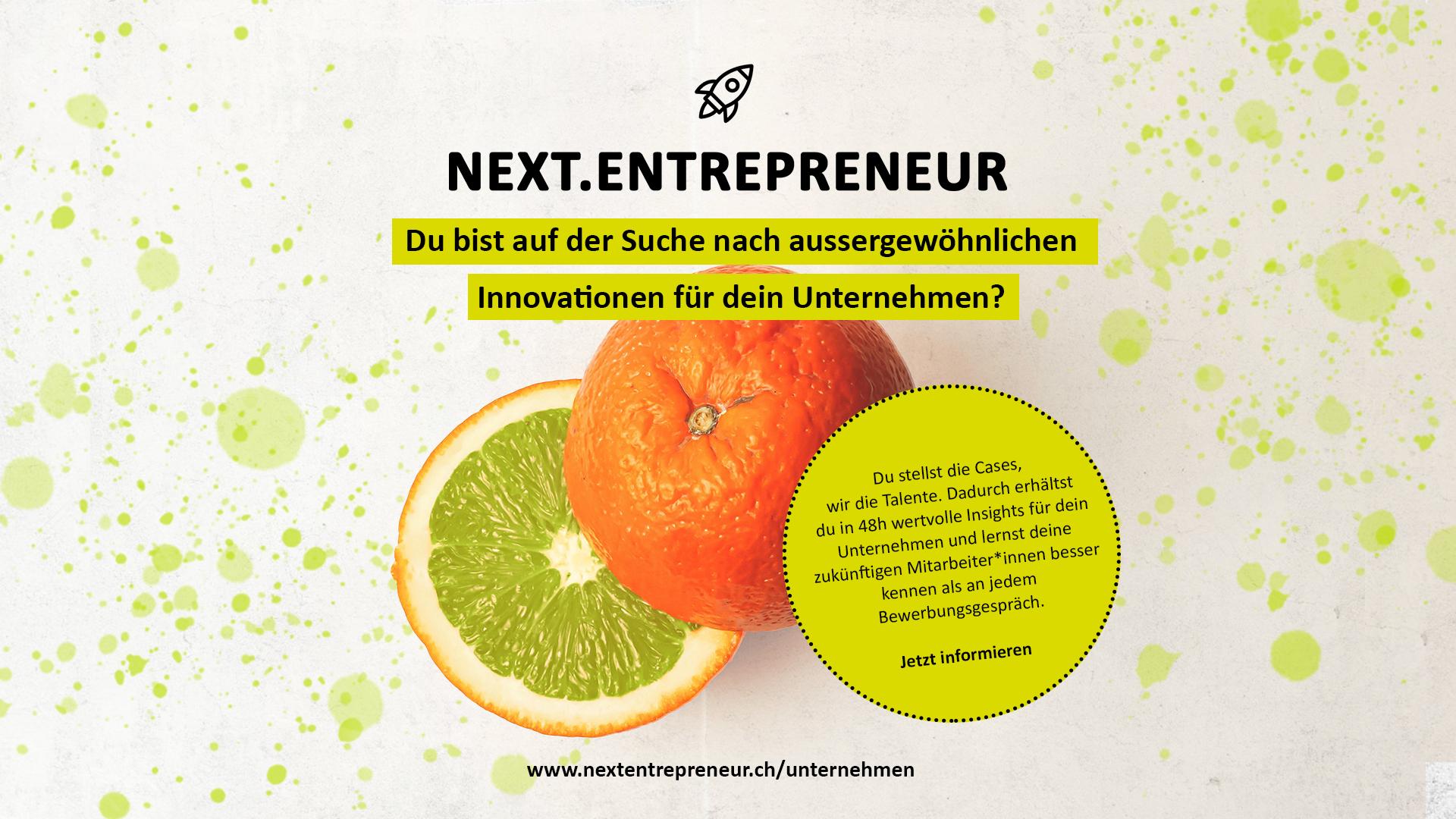 Next.Entrepreneur Bootcamp ‒ die Talentplattform